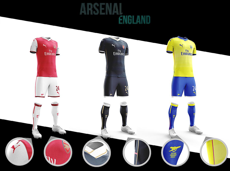 Designer inglês idealiza novos uniformes para equipes europeias ... 78ac4bbfffd83