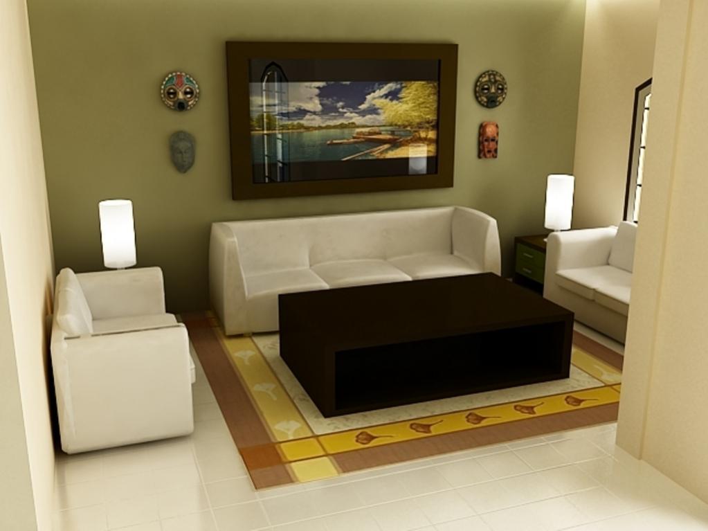 Top Desain Ruang Tamu Di Teras Rumah  22 model desain ruang tamu mungil minimalis plafon gypsum