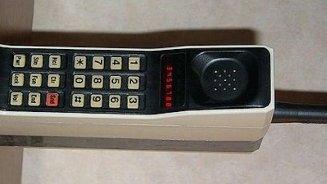 World's first mobile phones
