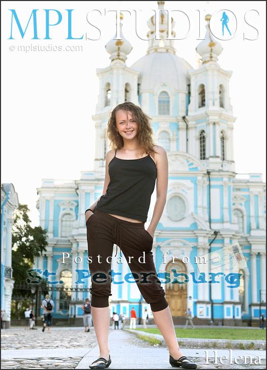 MkbLStudiok 2012-03-30 Helena - Postcard St. Petersburg 01050