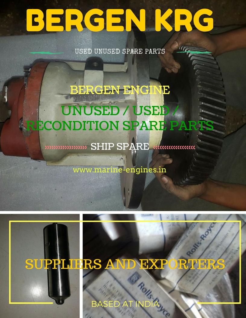 Bergen Motor, Bergen Spare Parts, Sale, Crank