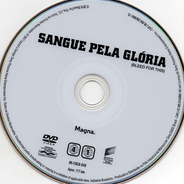 Label DVD Sangue Pela Glória (Oficial)