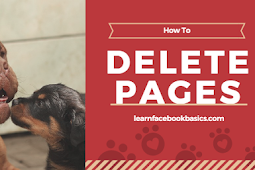 How you can delete Facebook page | Delete Business page