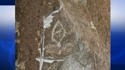 Stolen ancient rock carvings in California found