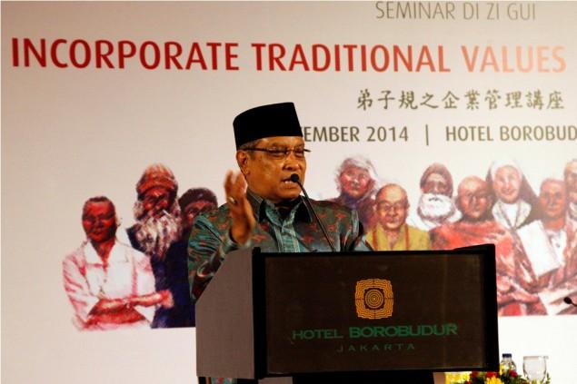 Ketua PBNU Said Aqil Siradj Instruksikan Salat Gaib untuk  Ketua KPU Husni Kamil Manik