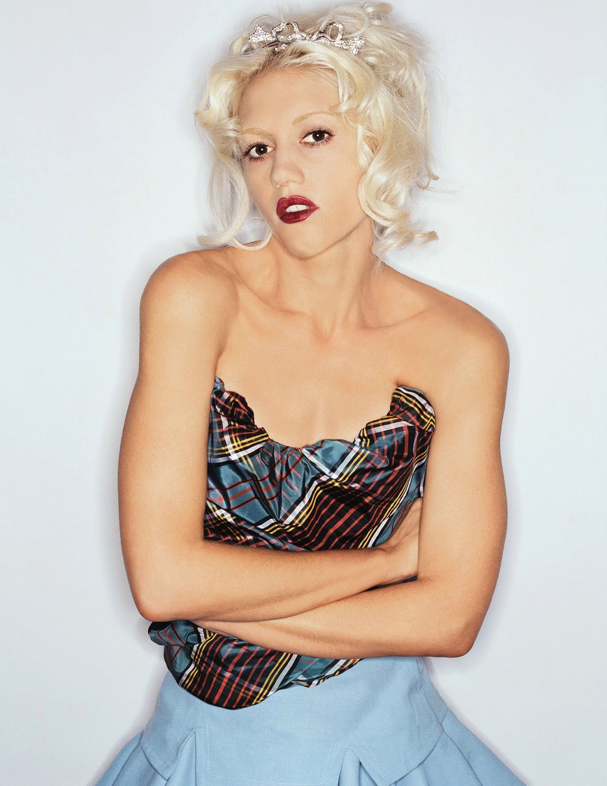 Hollywood Actress Gwen Stefani Cute Pics  Hot Celebrity -5699