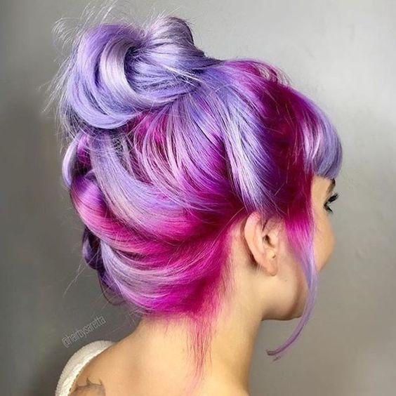 cabelo colorido