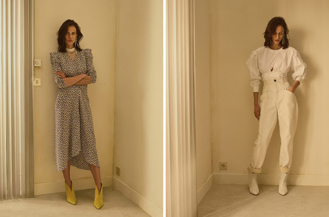 Платье и блузка с пышными рукавами Изабель Маран
