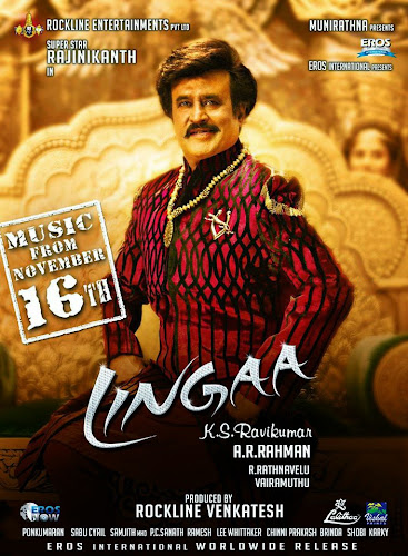 Lingaa (2014) Movie Poster No. 2