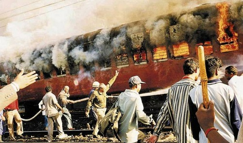 godhra train burning, godhra, gujarat, train, godhra train burning case, godhra train burning case verdict, burning, narendra modi, sabarmati express, narendra modi (politician), riots, gujarat riots, news, godhra train carnage, modi, farooq bhana, godhra case, riot, godhra riots, gujarat high court, india, fire