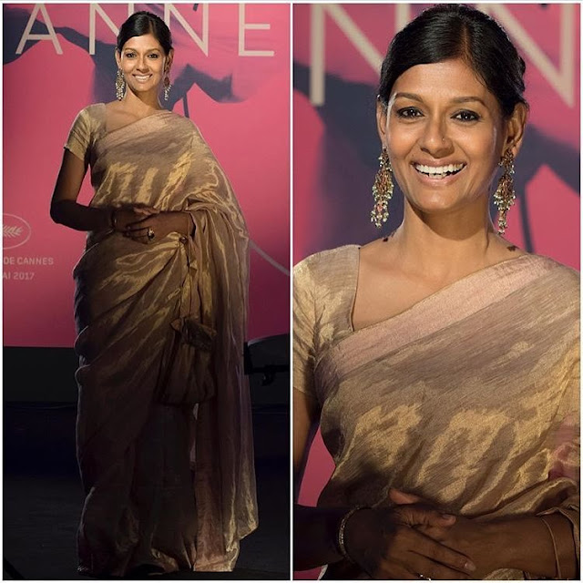 Nandita Das at cannes 2017 , Cannes Film Festival 2017, indian actresses at cannes 2017, who wore what cannes 2017