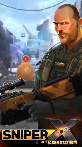 SNIPER X WITH JASON STATHAM Mod Apk