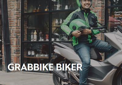 Cara Melamar / Mendaftar Jadi Driver Grabbike