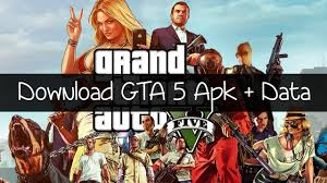 GTA 5 Apk + OBB Data for Android Download