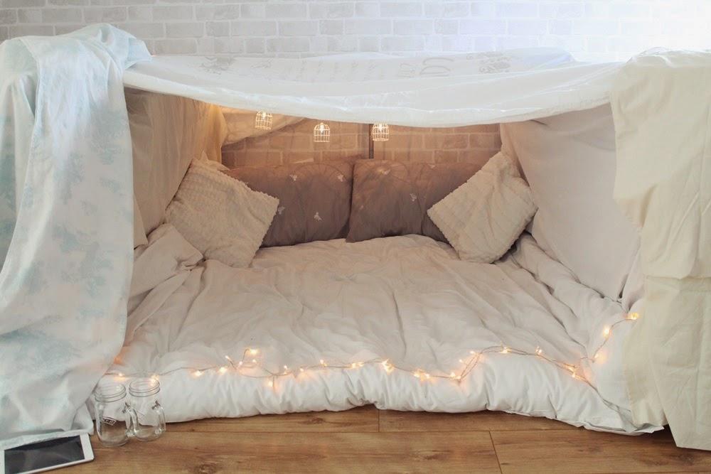 We Did An Indoor Fort Little Winter Bloglovin