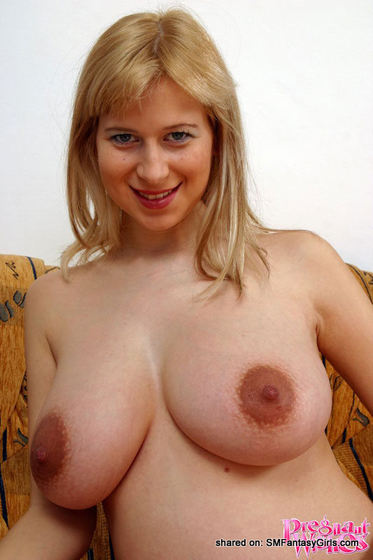 women with huge dark areolas