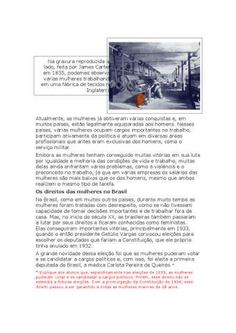 Os direitos das mulheres no Brasil