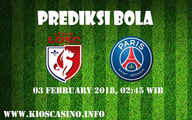 Prediksi Bola Lille vs Paris Saint Germain 03 Febuari 2018