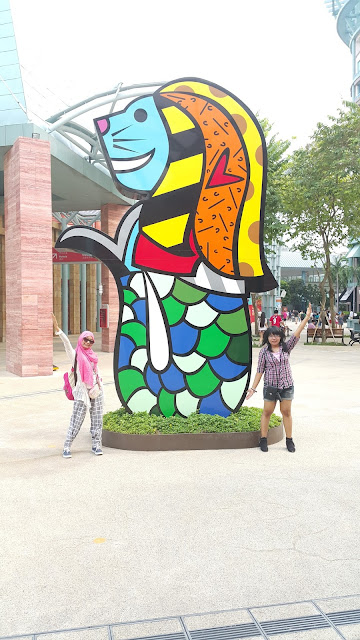 merlion walk singapore
