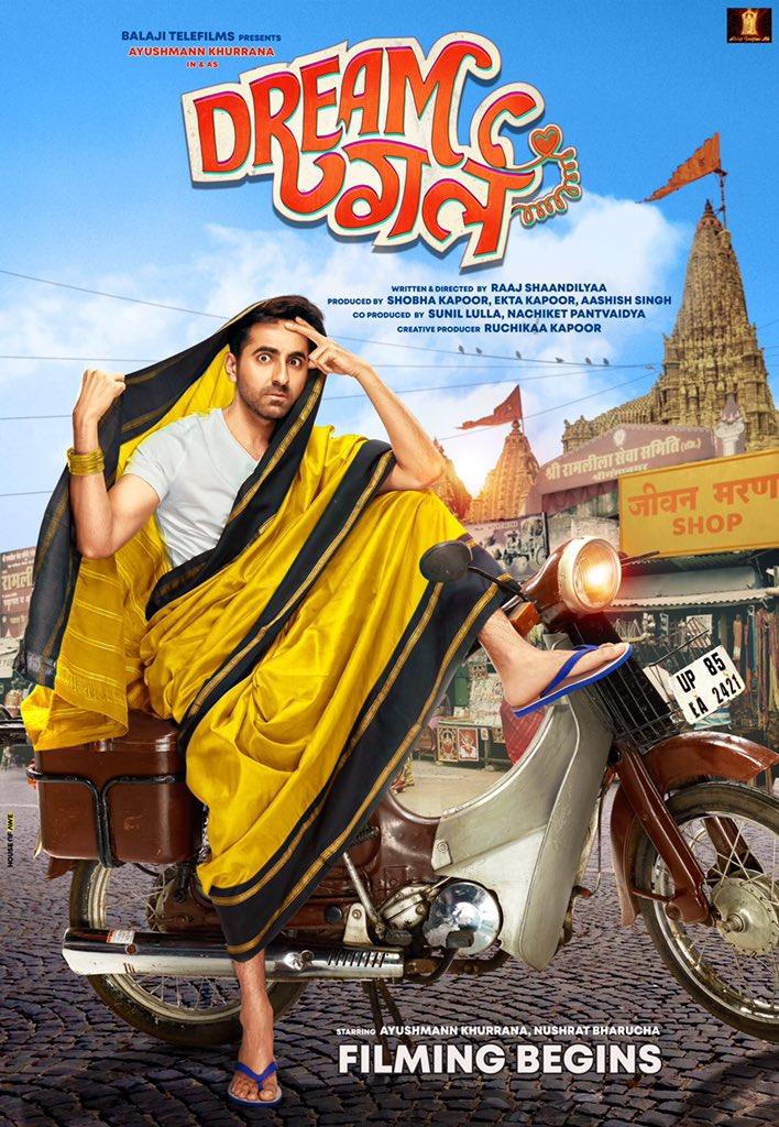DREAM GIRL: Ayushmann Khurrana shares the film's first look!