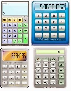 гаджет калькулятор