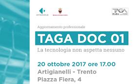 """Aggiornamento professione """"TAGA DOC 01"""""""