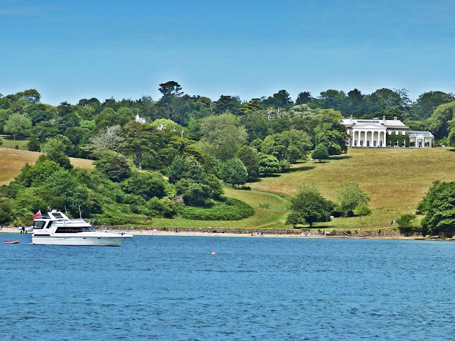 Trelissick House and estate, Cornwall
