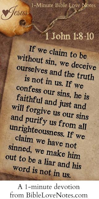 1 John 1:8-10