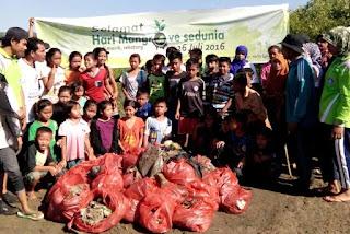 Selamat hari Mangrove bebas sampah plastik