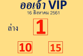 Thai Lottery 3up Sure Tips For 01-10-2018