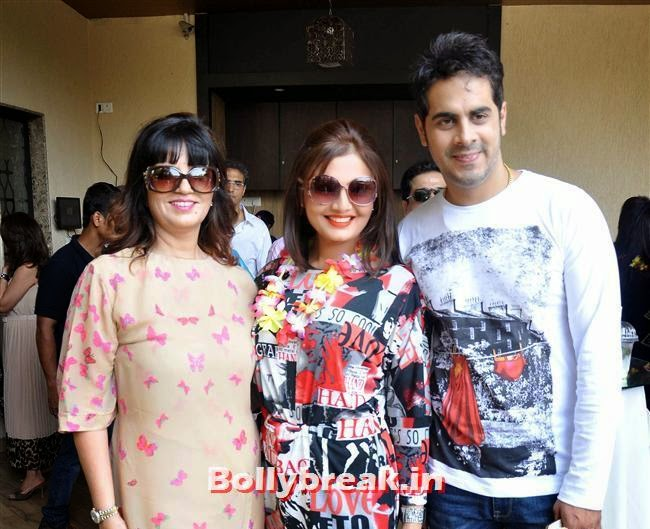 Neeta Lulla, Deepshikha and Keshav Arora, Bollywood Page 3 Celebs at Sheetal Nahar Brunch Party