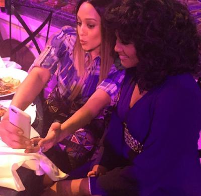 Omotola Jalade-Ekeinde at Essence Black Women in Hollywood Award