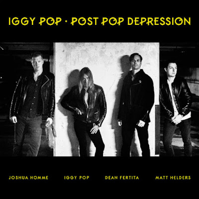 Iggy Pop - Post Pop Depression - cover album - 2016