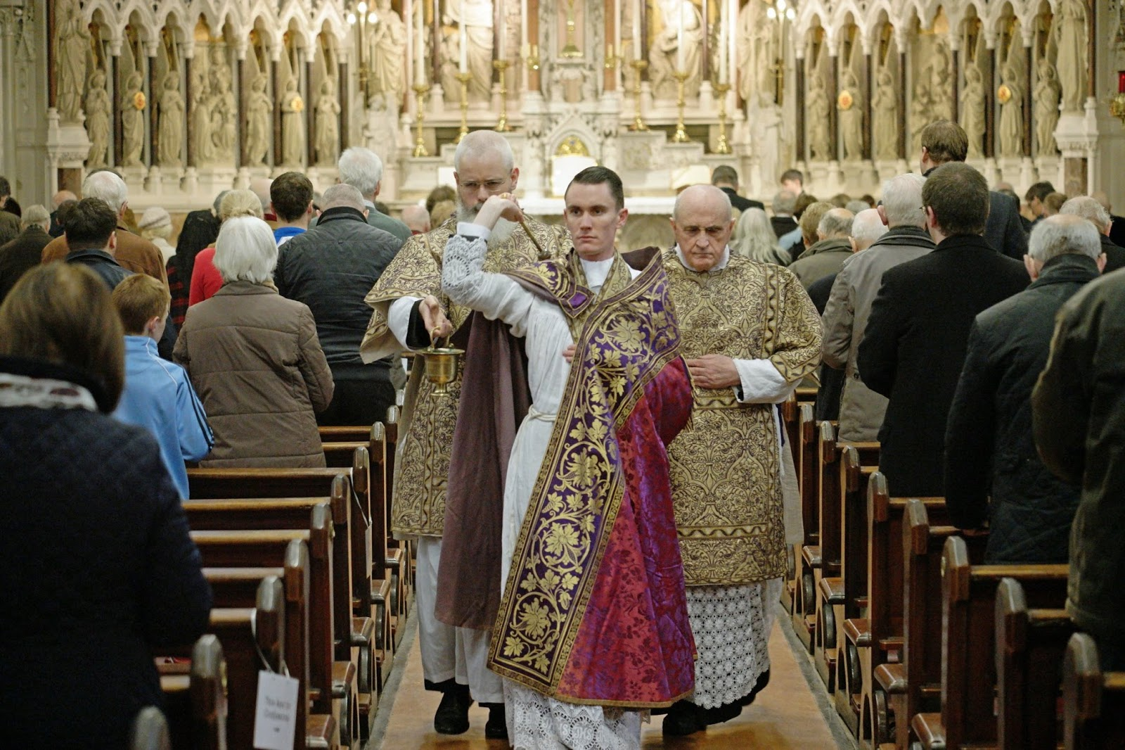 New Liturgical Movement: A First Mass in Ireland