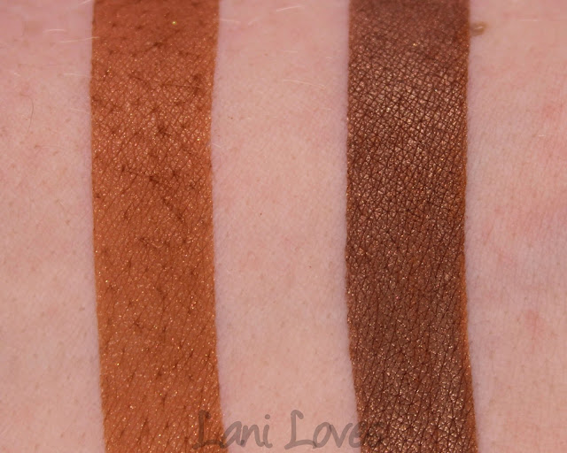 Kiss My Sass Eyeshadows - Sweet Tea Swatches & Review