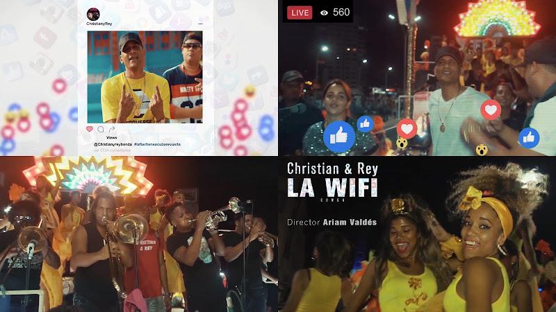 Christian & Rey - ¨La Conga Wifi¨ - Videoclip - Dirección: Ariam Valdés. Portal del Vídeo Clip Cubano