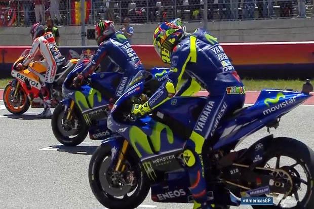 MotoGP Austria: Rossi Waspadai Kecepatan Lorenzo