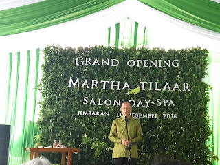 martha tilaar salon day spa jimbaran - pak David Christian