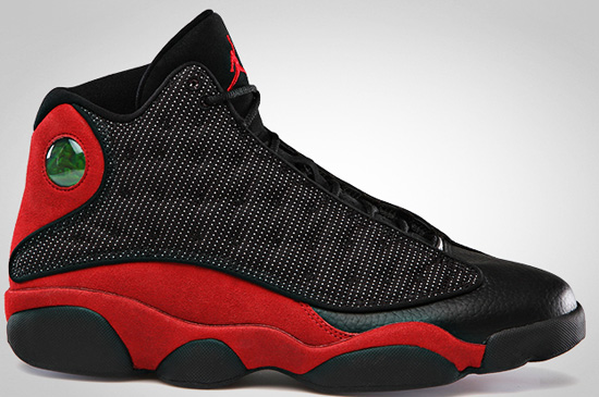 low priced 841c7 35c30 Last seen in 2004, it has been nine years since this original colorway of  the Air Jordan XIII was last released. Coming in the classic black, varsity  red ...