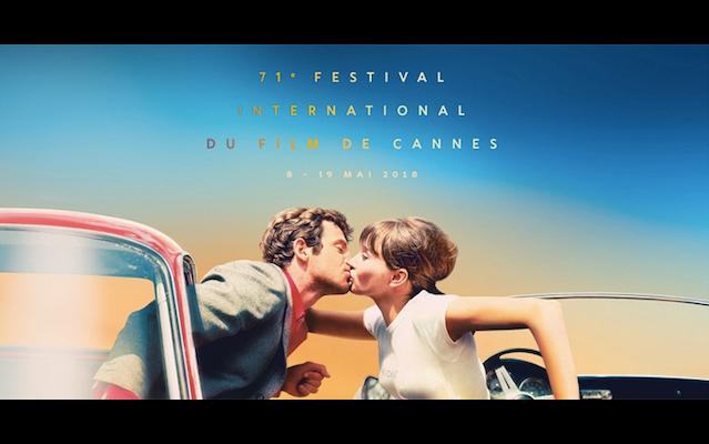 Un bacio al volo, la locandina della 71ª edizione del Festival di Cannes. [video]