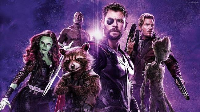 Avengers: Infinity War Thor - Star Lord - Gamora - Drax - Groot & Rocket Raccoon