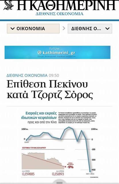 Ο Ούγκρος παρ'ολίγον επενδυτής,Soros στοχέυει στην Κίνα!!!