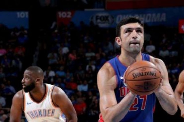 Preview Zaza Pachulia Detroit Pistons