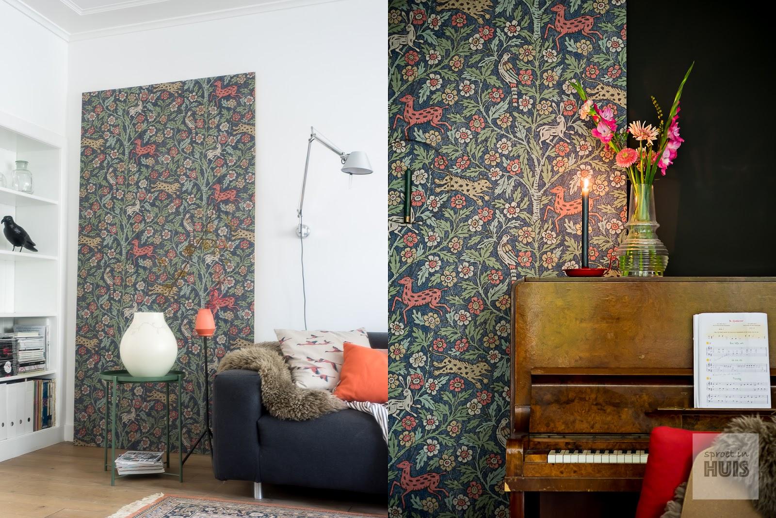 Svenkst tenn een zweedse basis voor herfst sferen in huis - Behang hoofdbord ...
