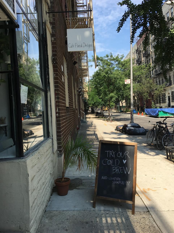 ev grieve: café floral delight now open on 10th street