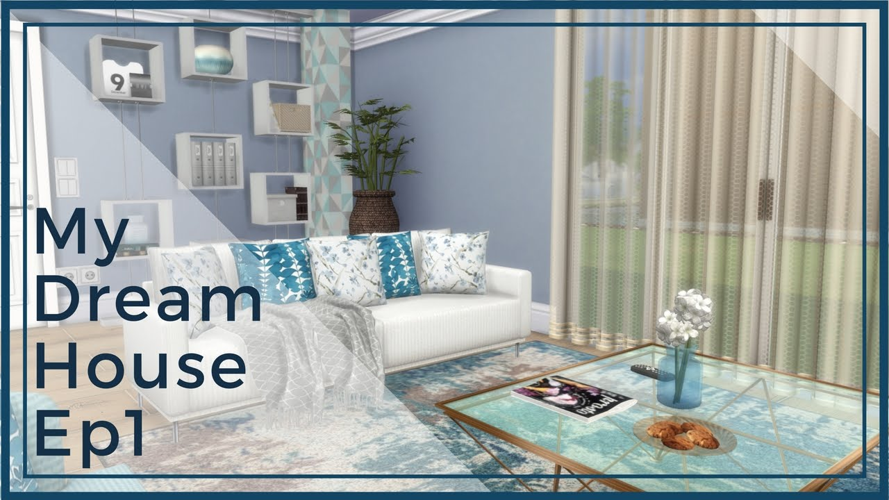 Sims 4 tv show my dream house inspiration ep1 for Dream house inspiration