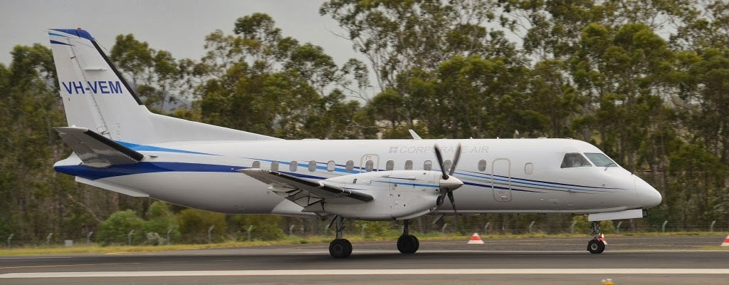 Central Queensland Plane Spotting: Corporate Air / Vee H