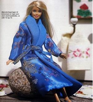 Como Fazer Um Roupão e Um Kimono Para Barbie Ou Monster High Com Moldes