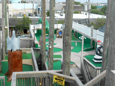 Club 18 Miniature Golf in Stone Harbor New Jersey
