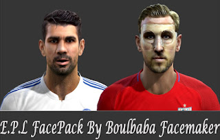Faces: Diego Costa, Harry Kane 2016, Pes 2013